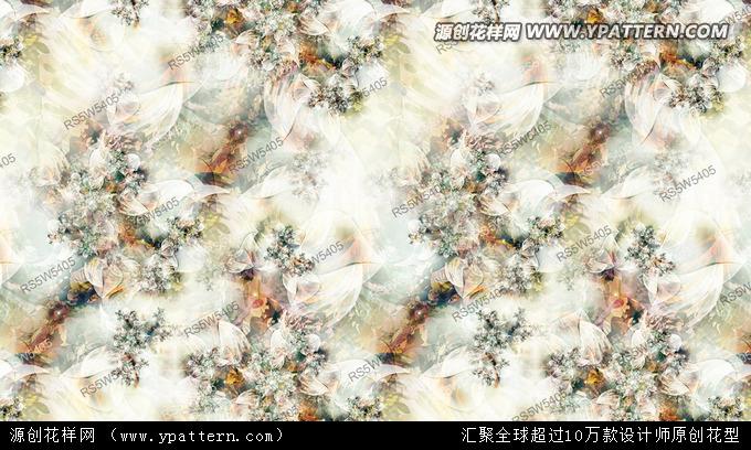 数码印花花型 面料图案